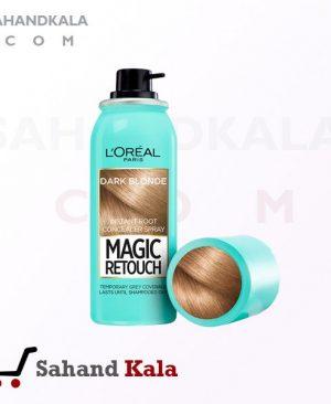 اسپری پوشاننده موهای سفید L'OREAL مدل MAGIC RETOUCH