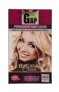 کیت رنگ موی گپ بلوند زیتونی خیلی روشن شماره 10.0