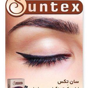 رنگ ابروی قهوه ای روشن سانتکس suntex