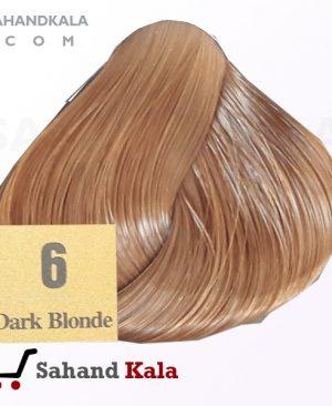 رنگ موی شماره 6 روشن