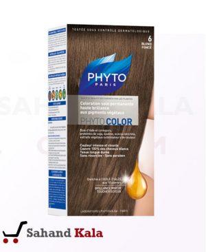 رنگ موی گیاهی فیتو