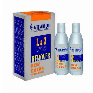 ریموور رنگ موی ویتامول remover rew color vitamol