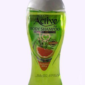 شامپو بدن اکتیو به رنگ فسفر