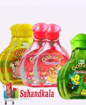 شامپو بچه تیله ای گلرنگ در رنگهای مختلف