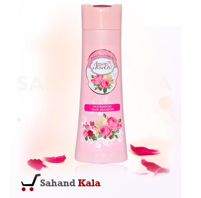شامپو تقویت کننده موی آرگان رز (Argan & rose)
