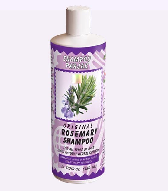 شامپو رز ماری پرژک Hair Shampoo Rosemary from parjak