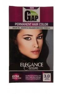 کیت رنگ موی گپ قهوه ای تیره شماره3.0