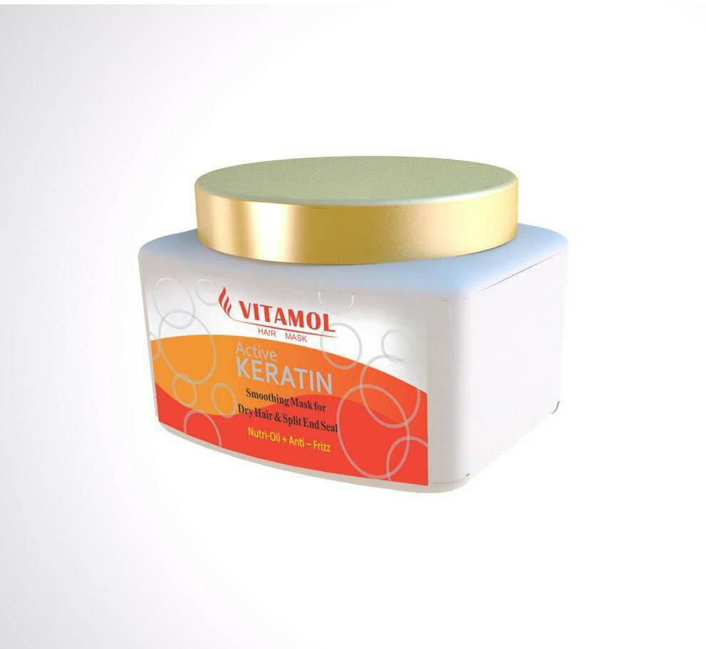 ماسک موی کراتینه ویتامول hair mask vitamol