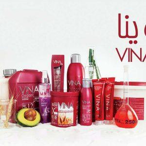محصولات آرایشی وینا VINA