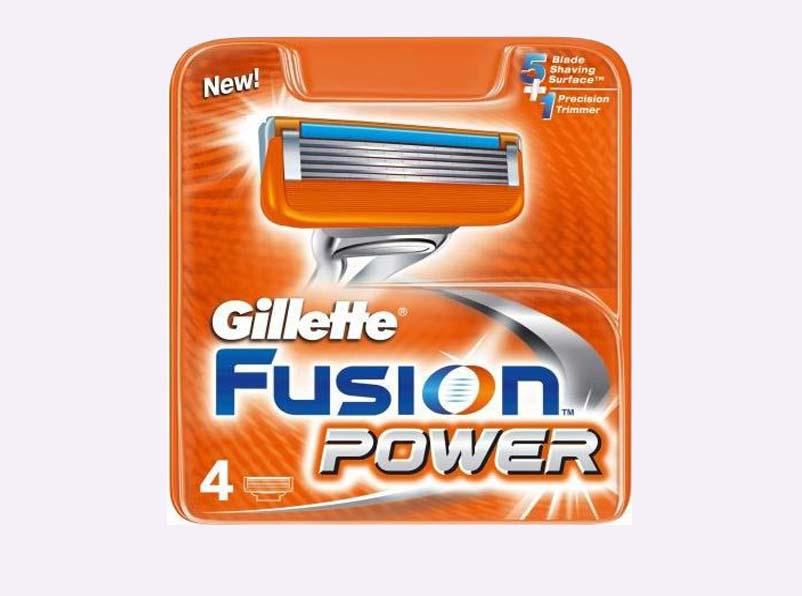 4یدک قابل تعویض ژیلت فیوژن پاور 4 Generic Replacement Blades for the Gillette Fusion Power
