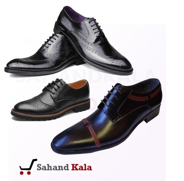 کفش مردانه دوخت تبریز رنگ مشکی