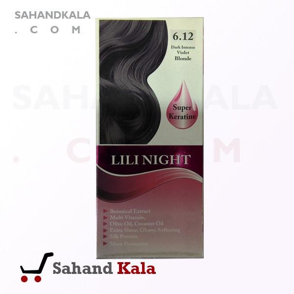 کیت رنگ موی لی لی نایت ( Lilinight )شماره6.12