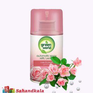 خوشبوکننده گرین ورد با رایحه ی گل سرخ ومروارید