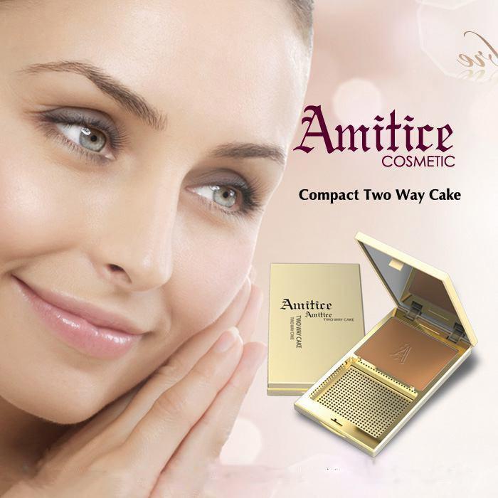 پنکک دو کاره آمیتیس Amitice ساختاری نرم با تاثیری شفاف و درخشان