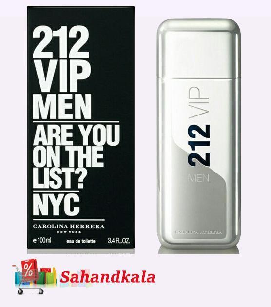 ادکلن خوش رایحه 212 وی آی پی مردانه