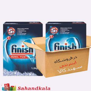 نمک ماشین ظرفشویی 1500 گرمی فینیشFinish