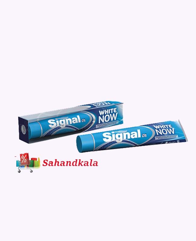 خمیردندان سفیدکننده و درخشان کننده وایت ناو سیگنال Signal Whait Now