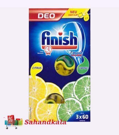 بوگیر ماشین ظرفشویی لیمویی سه تایی فینیش Finish