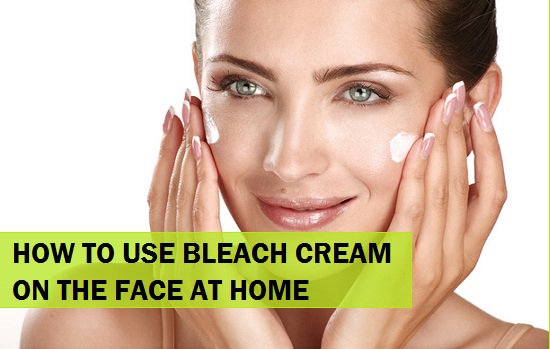 how-to-use-bleach-cream-at-home