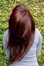 رنگ موی شکلاتی فانتزی