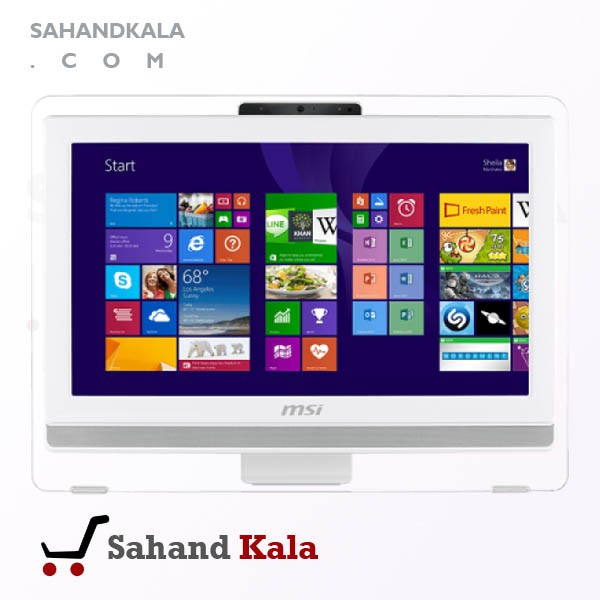 کامپیوتر بدون کیس ALL-IN-ONE MSI PRO 20E 4BW-with Battery