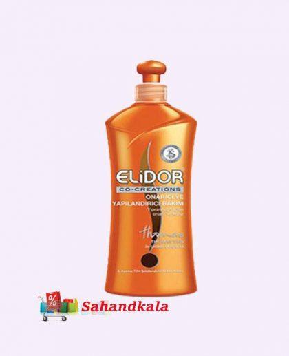 کرم موی تقویت وتغذیه کننده فوق العاده الیدور برای موهای رنگ شده